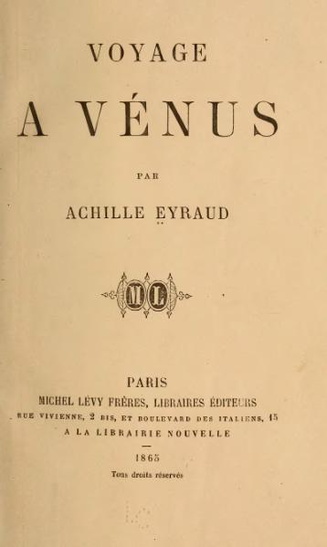 O călătorie la Venus